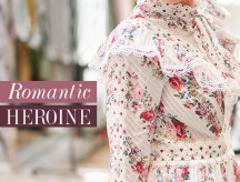 How to style vintage floral dresses for Autumn?