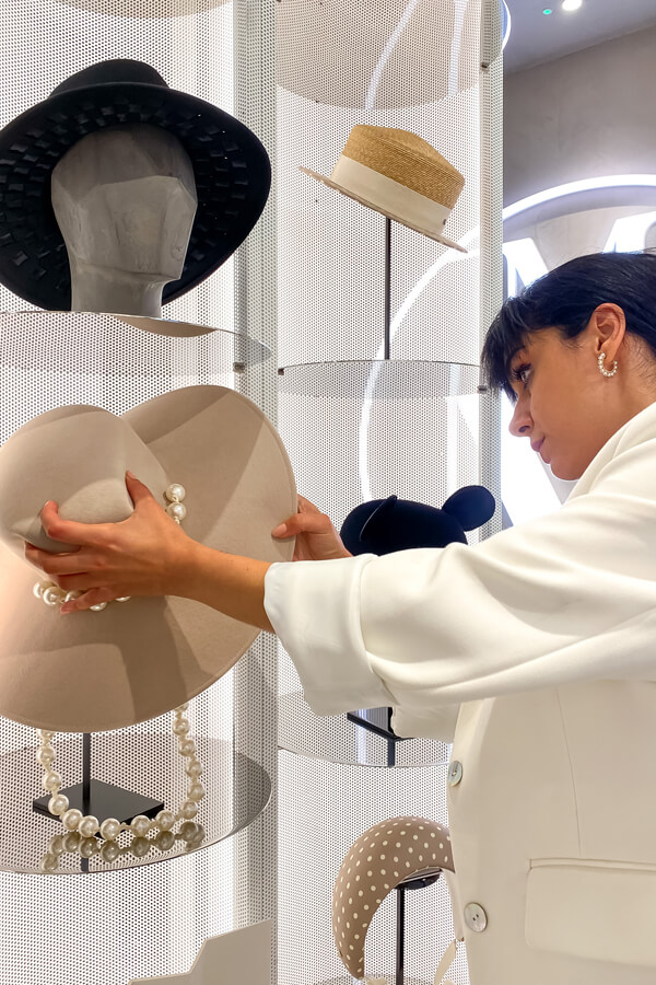 How To Choose The Perfect Hat With Personal Stylist UK Deni Kiro at Maison Michel