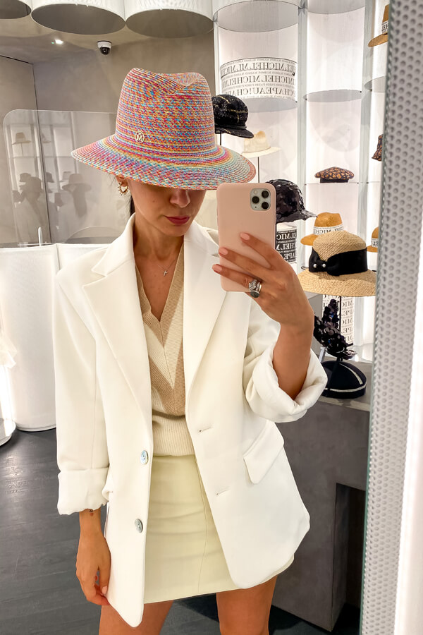 personal shopper London Deni on how to choose the perfect hat