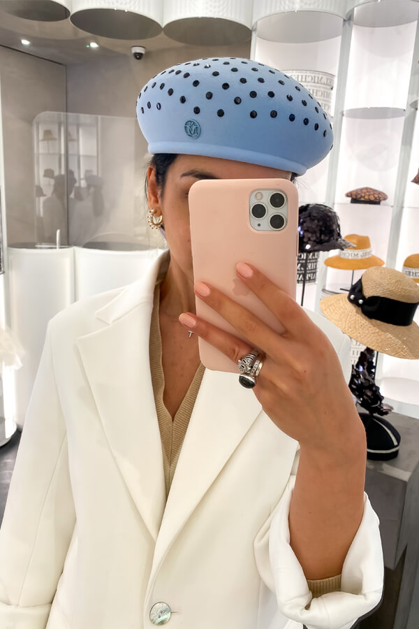 Image Consultant London Deni Kiro on how to choose the perfect hat