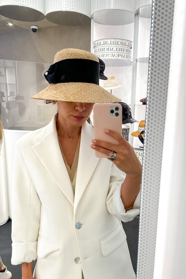 personal shopper UK Deni on how to choose the perfect hat