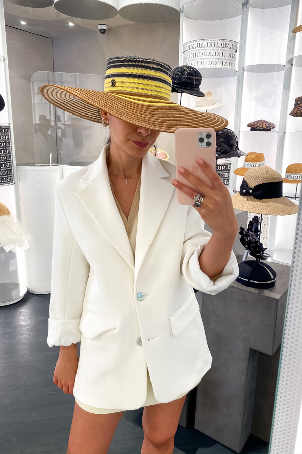 Fashion Consultant London Deni on how to choose the perfect hat