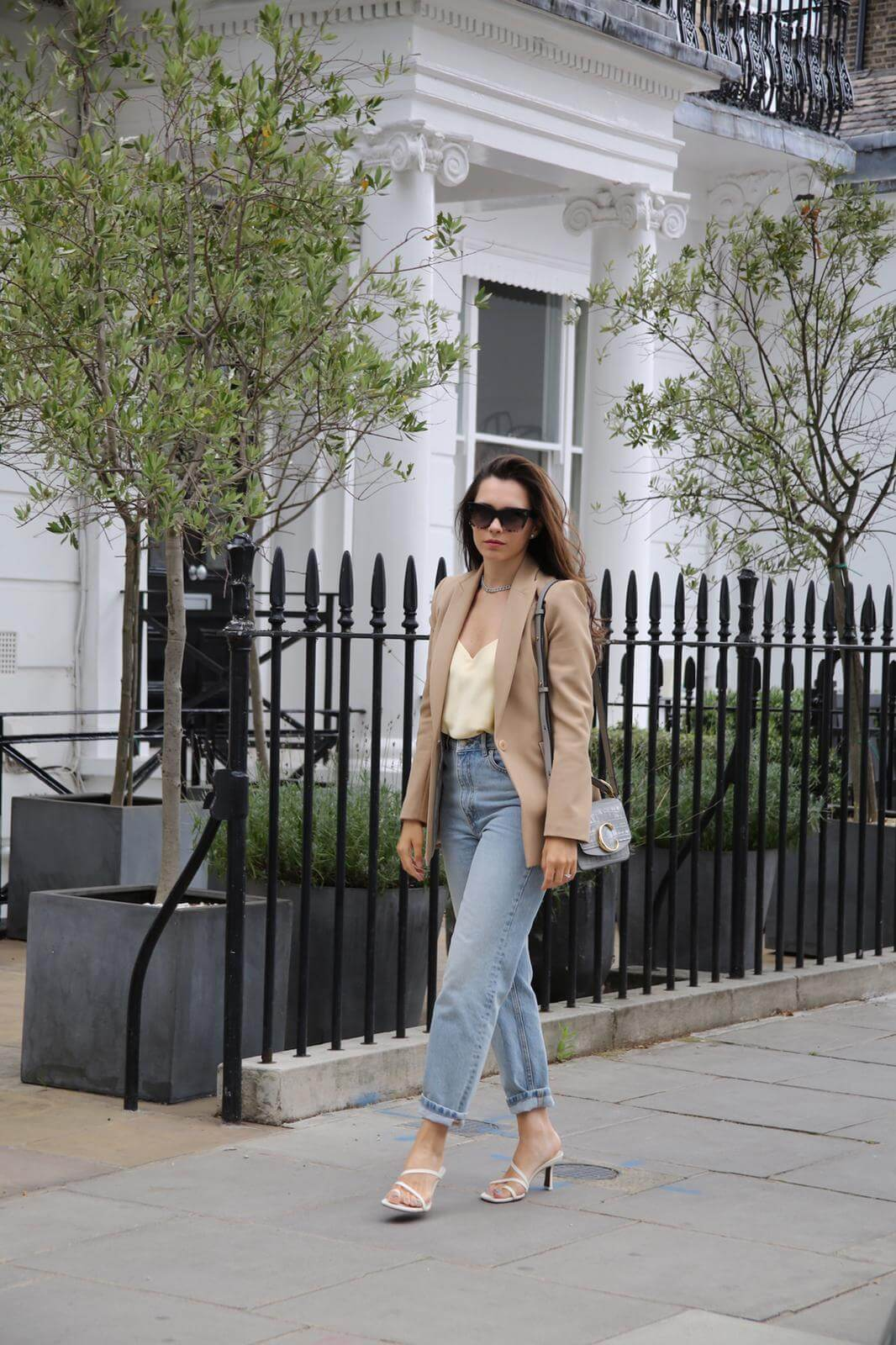 Vlada's wardrobe styling session with famous Dubai personal stylist Deni Kiro