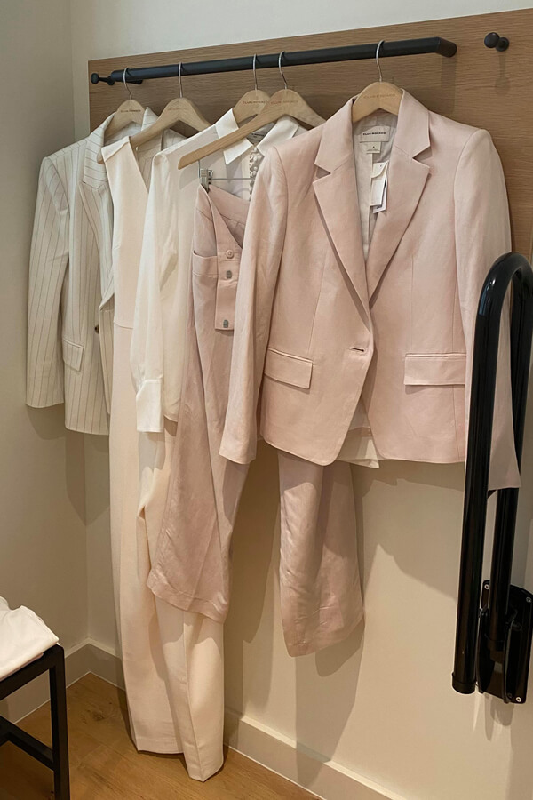 creating a capsule wardrobe for a celebrity by celebrity stylists London